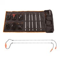 Adventure Kings Complete 5 Bar Camp Light Kit + Orange LED Camp Light Extension Kit