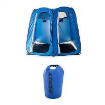 Adventure Kings Double Ensuite/Shower Tent + 15L Dry Bag