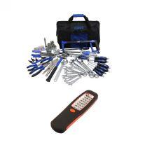 Adventure Kings Tool Kit - Ultimate Bush Mechanic + Illuminator 24 LED Work Light
