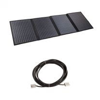 Adventure Kings 120W Portable Solar Blanket + 10m Lead For Solar Panel Extension