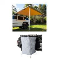 Adventure Kings Awning 2.5x2.5m + Instant Ensuite