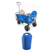Adventure Kings Collapsible Cart + 15L Dry Bag