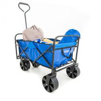 Kings Collapsible Cart | For Beach/Camping/Home/Work Use | Wide Wheels