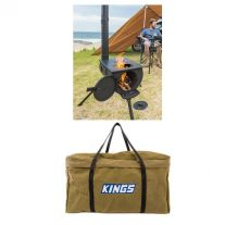 Adventure Kings Camp Oven/Stove + BBQ Canvas Bag
