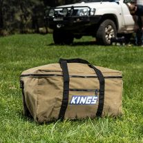 Adventure Kings Canvas Travel Bag | Heavy Duty Zip | 400GSM ripstop & waterproof