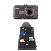 High-Def Dash Camera + Car Seat Organiser