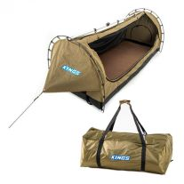Kings Deluxe Escape Single Swag + Deluxe Single Swag Polyester Bag