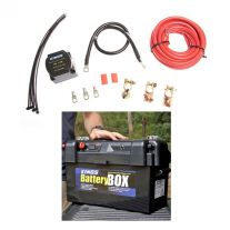 Adventure Kings Dual Battery System + Maxi Battery Box