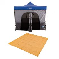 Adventure Kings Gazebo Tent + Mesh Flooring 3m x 3m
