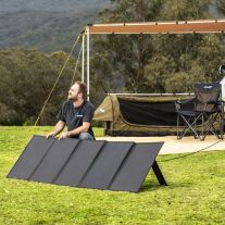 Adventure Kings 250W Solar Blanket w/Legs | MPPT regulator | Up to 20A Charge