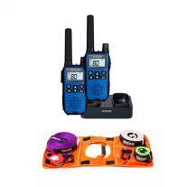 Oricom Handheld UHF CB Radio Twin Pack - UHF2190 + Hercules Essential Nylon Recovery Kit