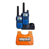 Oricom Handheld UHF CB Radio Twin Pack - UHF2190 + Hercules Winch Dampener