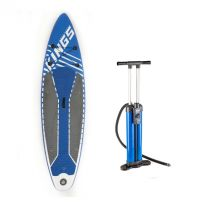 Adventure Kings Inflatable Stand-Up Paddle Board + Triple-Action Inflatable Paddleboard Pump