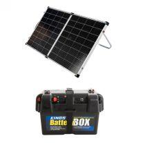 Kings Premium 160w Solar Panel with MPPT Regulator + Battery Box