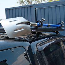 Platform Roofrack Shovel Holder