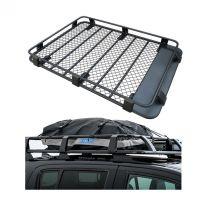 Steel Roof Rack 3/4 Length + Half-Length Premium Waterproof Rooftop Bag