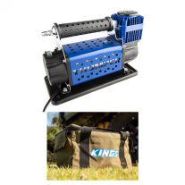 Thumper 12v Air Compressor 160L/M 150PSI + Adventure Kings Canvas Thumper Bag
