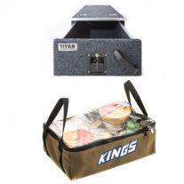 Titan Single Drawer 900mm + Adventure Kings Clear Top Canvas Bag