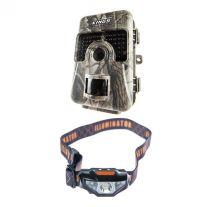 Adventure Kings Trail/Game Camera +  Illuminator LED Head Torch
