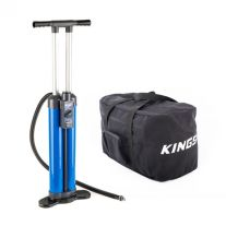 Triple-Action Inflatable Paddleboard Pump + Heavy-Duty Duffle Bag