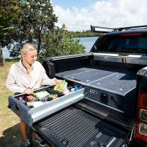 1300mm Titan Drawer System Suitable for Utes | incl Fridge Slide | Suits single and dual cab