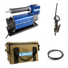 Thumper Air Compressor MkIII + Kings 3in1 Ultimate Air Tool + Thumper Air Hose Extension 4m + Canvas Thumper Bag