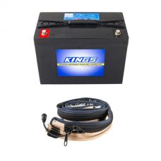 Adventure Kings AGM Deep Cycle Battery 98AH + LED Strip Light