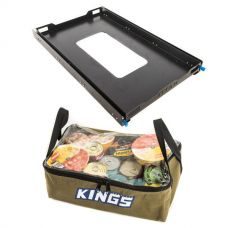 Adventure Kings Titan 100L Fridge Slide + Clear Top Canvas Bag