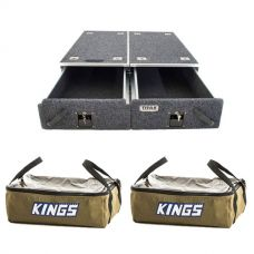 Titan Drawer System - 1070mm + 2 x Adventure Kings Clear Top Canvas Bag