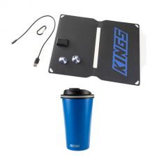 Kings 10W Portable Solar Kit + 410ml Travel Mug