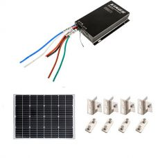 Adventure Kings 110w Fixed Solar Panel + Mounting Brackets to Suit Kings 110W Fixed Solar Panel + Adventure Kings MPPT Regulator