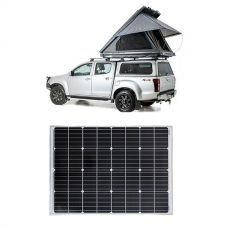 Adventure Kings Grand Tourer Roof Top Tent + Adventure Kings 110w Fixed Solar Panel