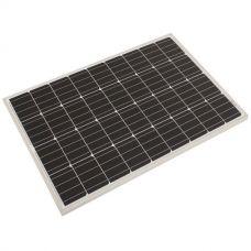 Adventure Kings 110w Fixed Solar Panel   Monocrystalline Cells   Aluminium Frame