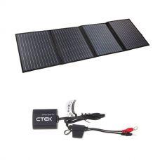 Adventure Kings 120W Portable Solar Blanket  + CTEK Battery Sense