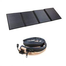 Adventure Kings 120W Portable Solar Blanket + LED Strip Light