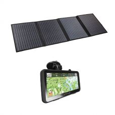 Adventure Kings 120W Portable Solar Blanket + VMS Touring 700 HDX