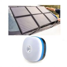 Adventure Kings 120W Portable Solar Blanket + Mini Lantern