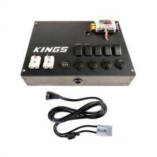 12V Control Box + Kings 1.8m 12v Fridge Cable