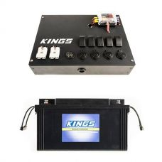 12V Control Box + 138Ah AGM Deep-Cycle Battery