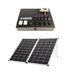 12v Control Box + Adventure Kings 250w Solar Panel