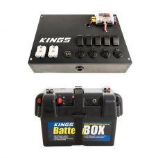 12V Control Box + Battery Box