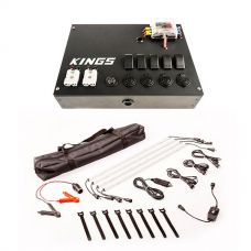 12V Control Box + Illuminator 4 Bar Camp Light Kit