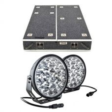 "1300mm Titan Drawer System Suitable for Utes + Domin8r Xtreme 9"" LED Driving Lights (Pair)"