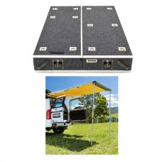 1300mm Titan Drawer System Suitable for Utes + Adventure Kings Rear Awning - 1.4 x 2m
