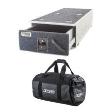 Titan Single Ute Drawer 1300mm + 40L Large PVC Duffle Bag