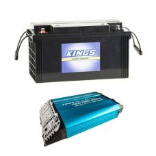 Adventure Kings 1500W Inverter + Adventure Kings 138Ah AGM Deep-Cycle Battery