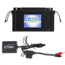 Adventure Kings 138Ah AGM Deep-Cycle Battery + CTEK Battery Sense