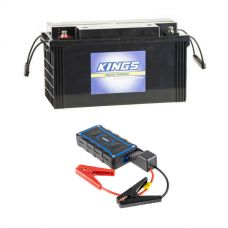 138Ah AGM Deep-Cycle Battery + Jump Starter