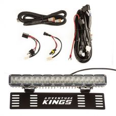 "15"" Numberplate LED Light Bar + Plug N Play Smart Wiring Harness Kit"