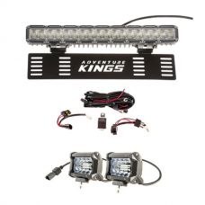 "15"" Numberplate LED Light Bar + Wiring Harness + 4"" LED Light Bar"
